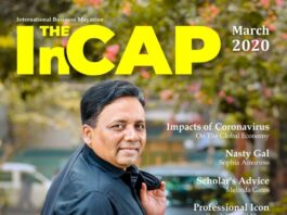 Mr. Iqbal Bahar on the cover of The InCAP March 2020 issue