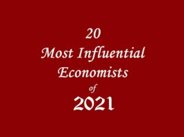 20 Most Influential Economists of 2021